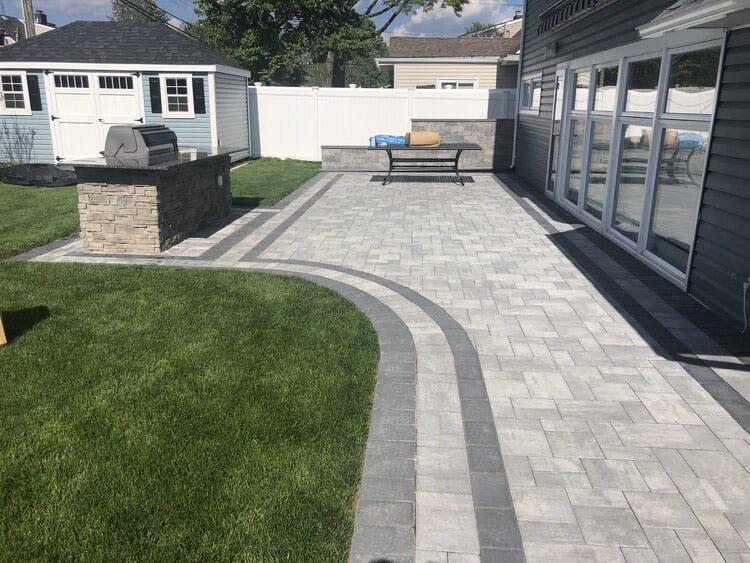 New masonry driveway Project